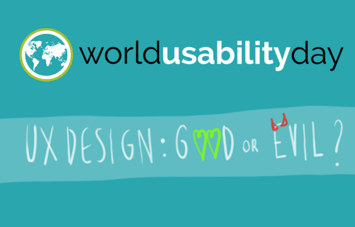 World Usability Day 2018 Geneva on Thursday 8 November at 6.30pm!